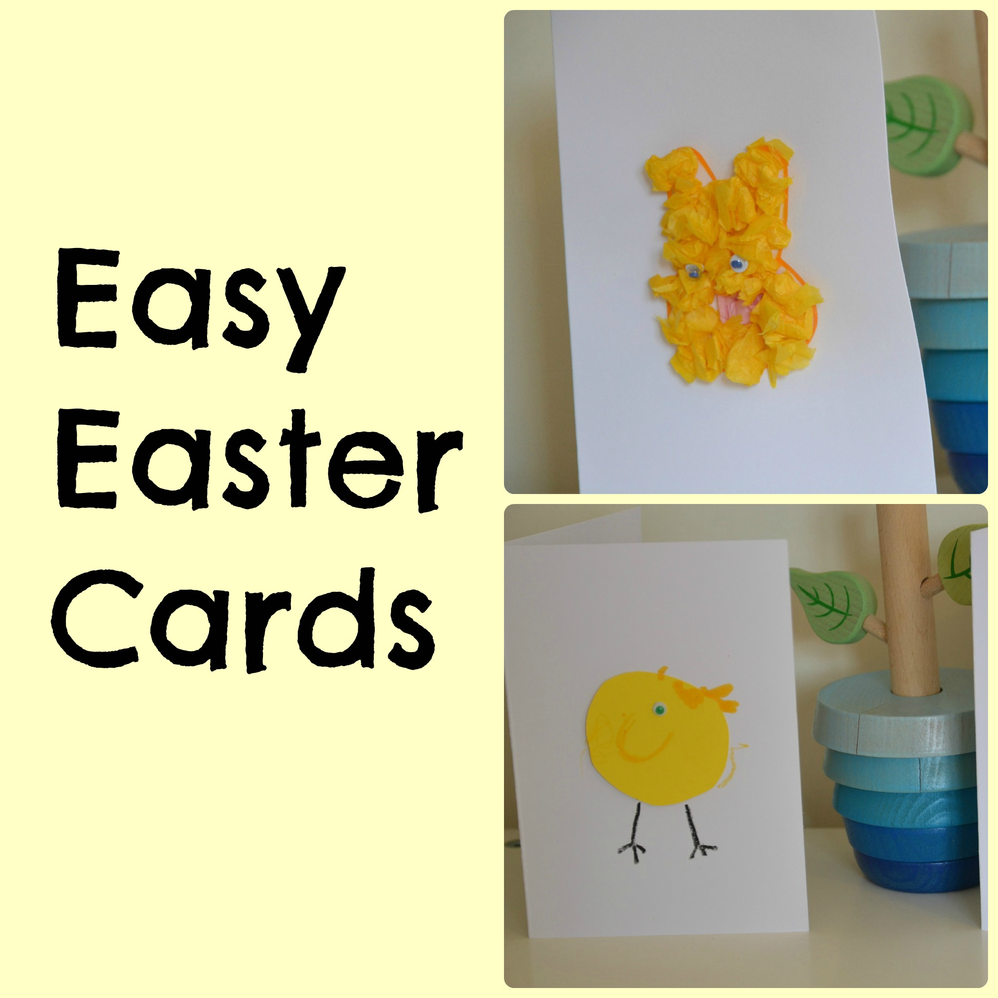 Easy Easter cards – Spring Blog Hop