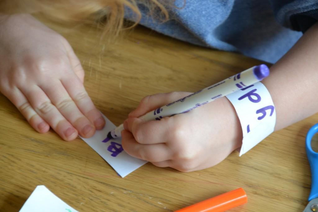 preschooler writing