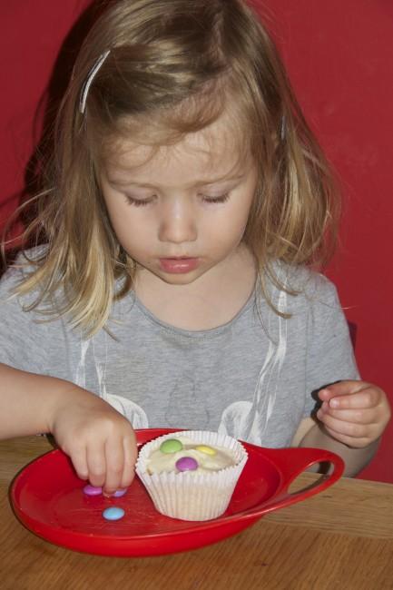 Number cupcakes