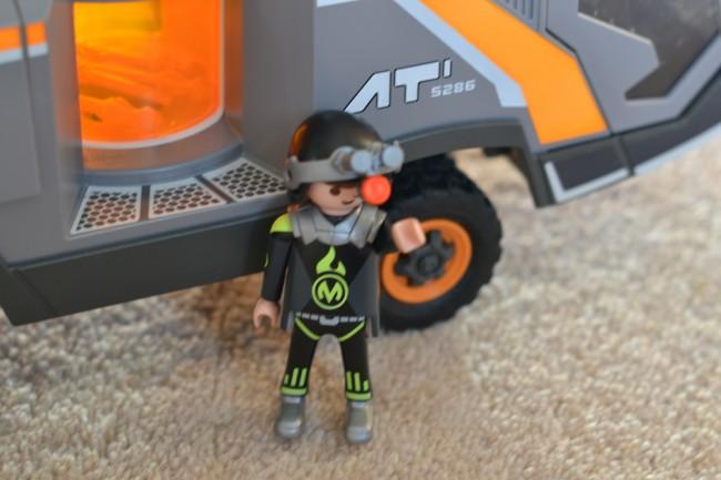 Playmobil Spy Team Command Vehicle