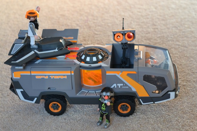 Playmobil Spy Command Vehicle