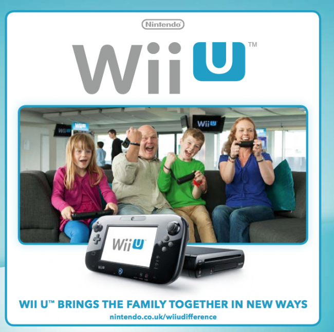 Family games for Wii U