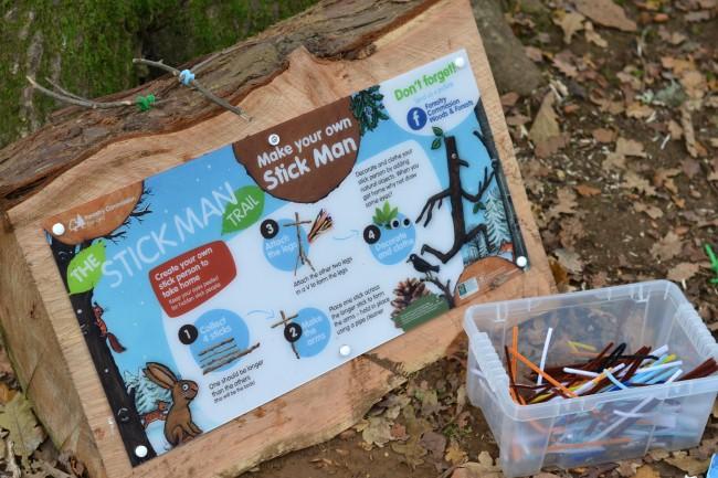 Stickman trail