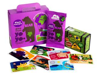 Bear Snack cards