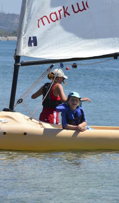 Sailing at Mark Warner