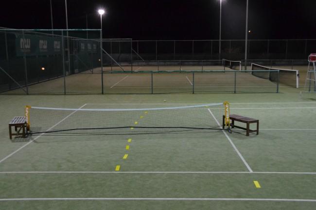 Tennis at Mark Warner