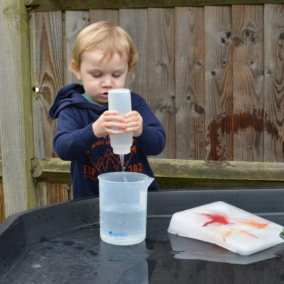 Toddler Play – Autumn Ice