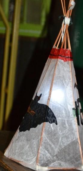 wicker lantern