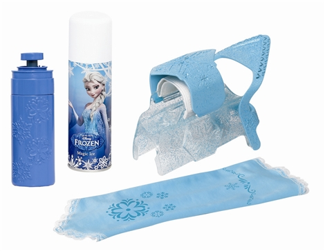 Frozen magic snow sleeve