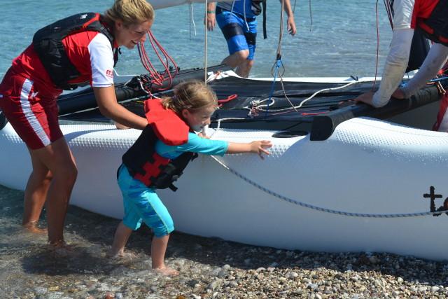 Parent and child sail Levante