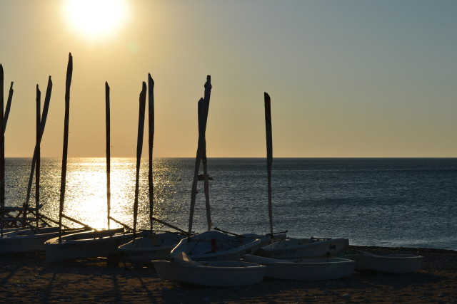 Sunrise at Levante Beach Resort