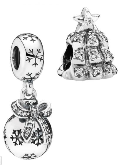 Pandora Christmas Charms
