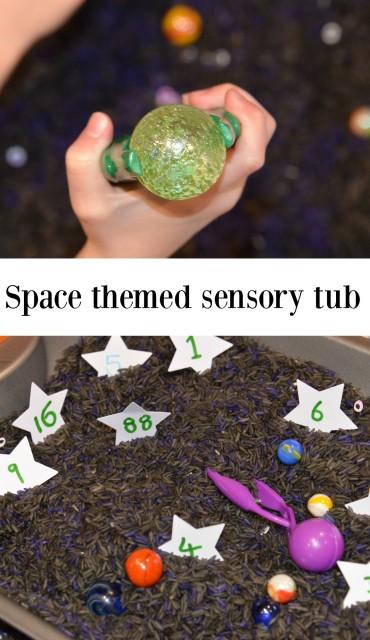 space sensory tub