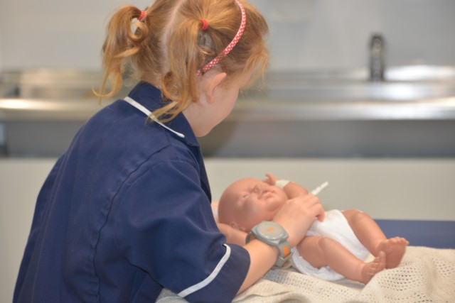 KidZania - baby hospital