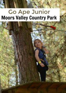Go Ape Junior Moors Valley