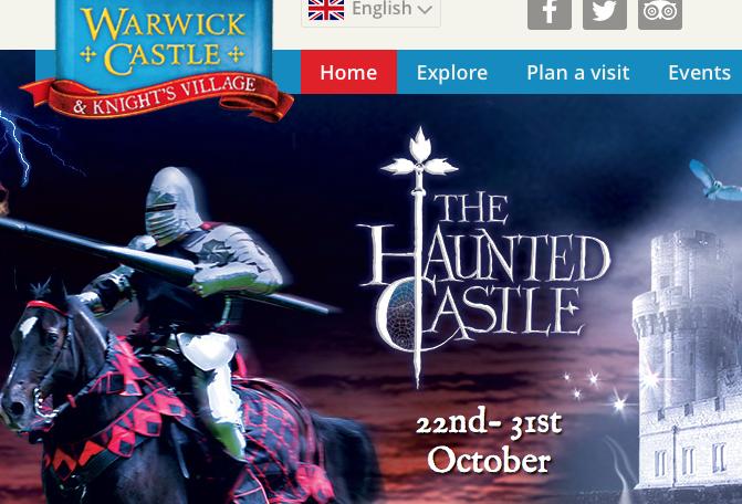 Halloween at Warwick Castle