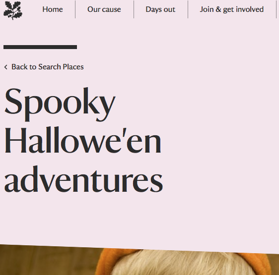 Halloween at the National Trust