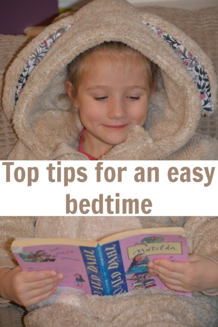 top tips for an easy bedtime