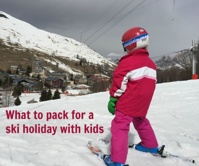 What to pack for a ski holiday with kids