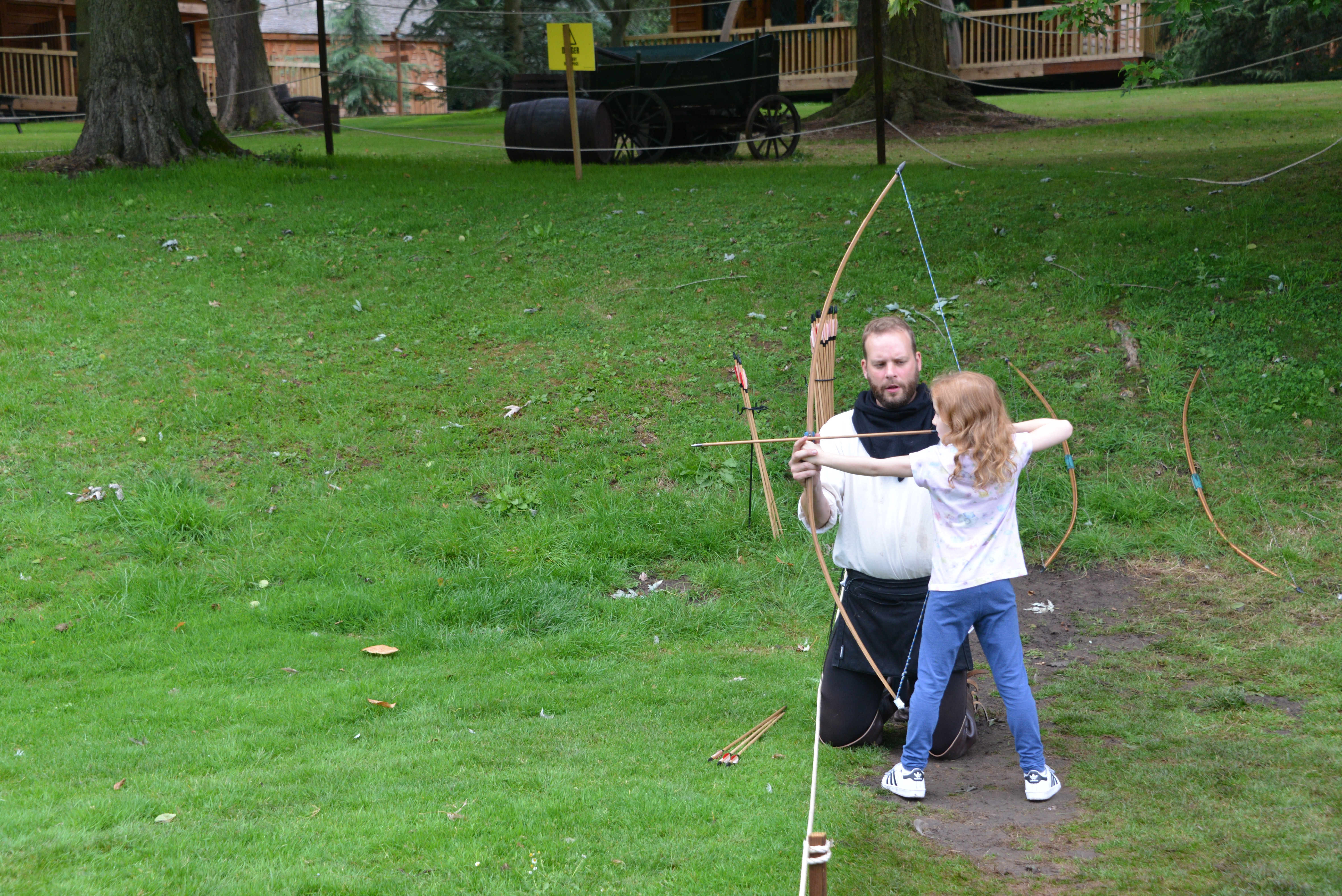 Archery at Warwick Castle