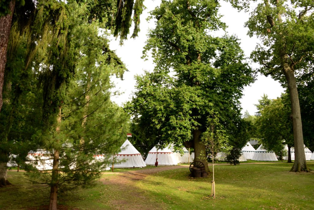 Glamping Tents at Warwick Castle