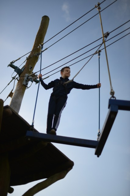 Hobbledown High Ropes