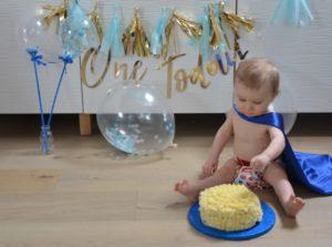 birthday cake smash
