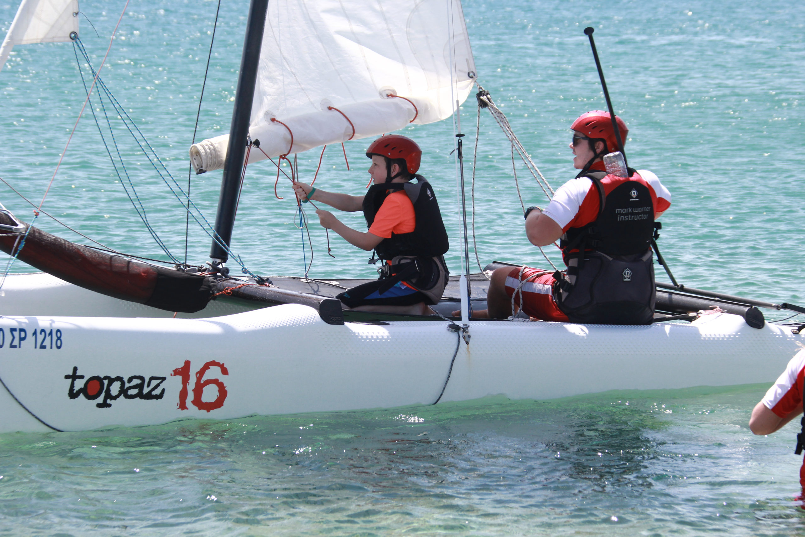 Sailing courses at Mark Warner