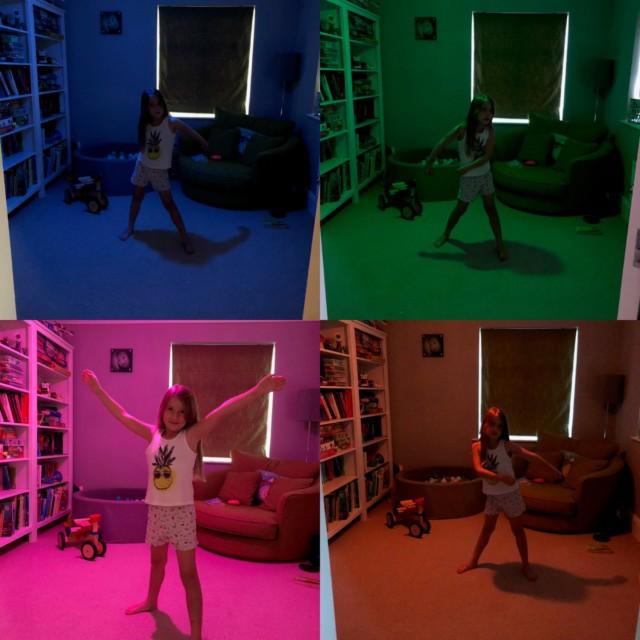 Hive colour changing lightbulbs