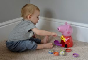 Peppa Pig Count With Me Interactive Money Box