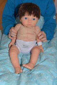 Tiny Treasure doll sat up