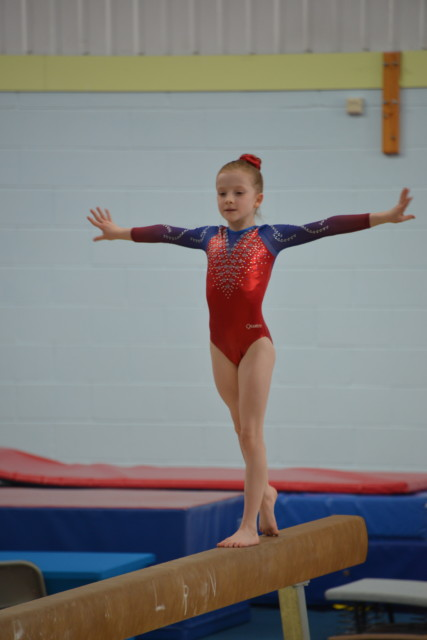 10 year old gymnast