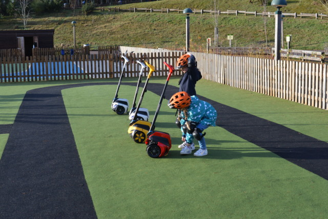Segways for younger children