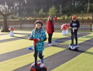 Segways at Center Parcs