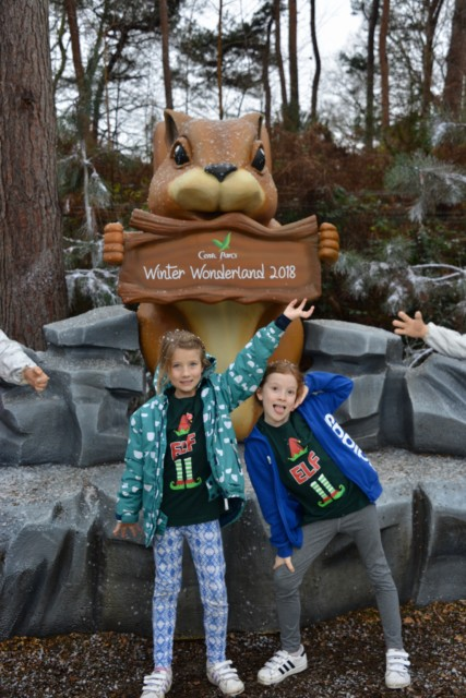 Centre Parcs winter Wonderland