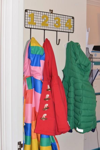 coat hooks - pib