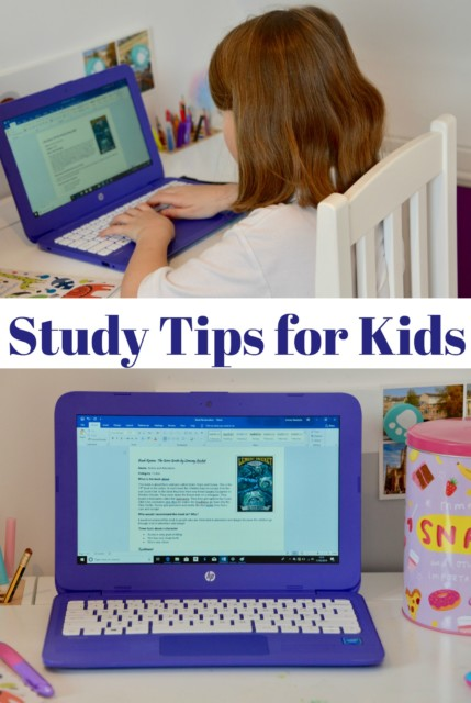 Study tips for Kids