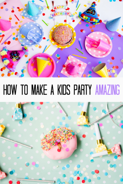 How to throw an amazing kids party!