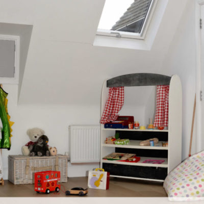 Natural Daylight and a Playroom Loft Conversion with VELUX Roof Windows #AD