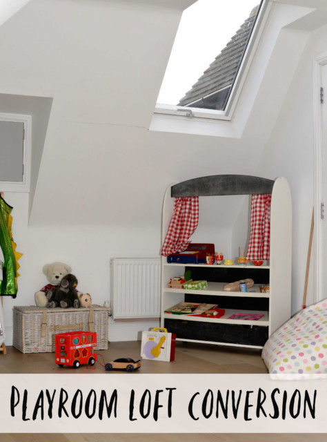 Velux Windows in a loft conversion playroom