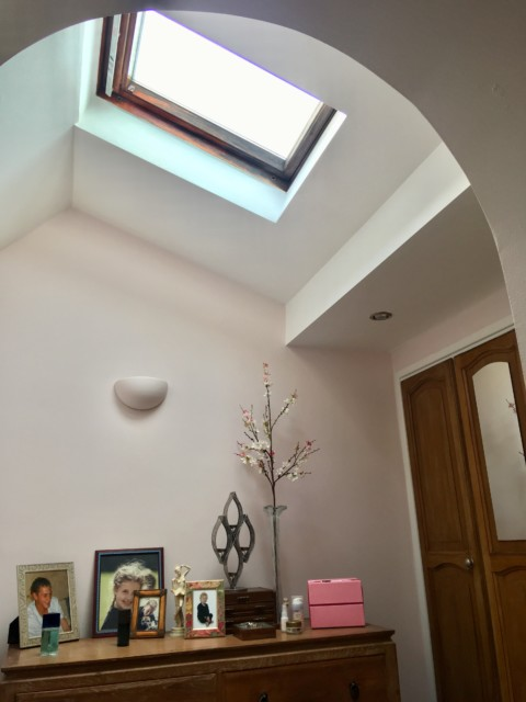 VELUX Roof Windows in bedroom extension