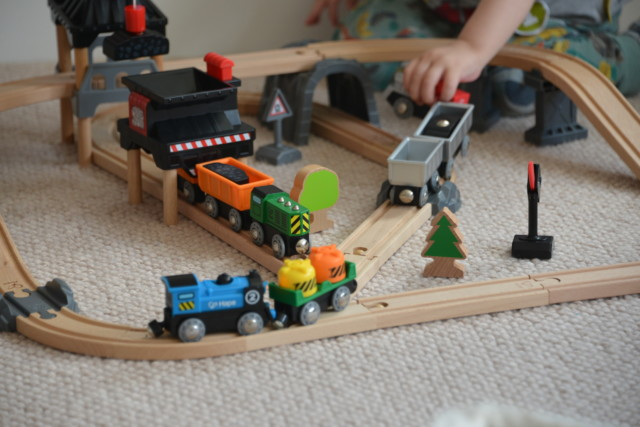 Battery powered HAPe train