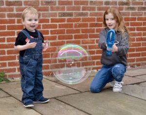 Gazillion giant bubbles