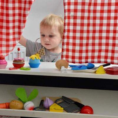 Hape toy set - role play food