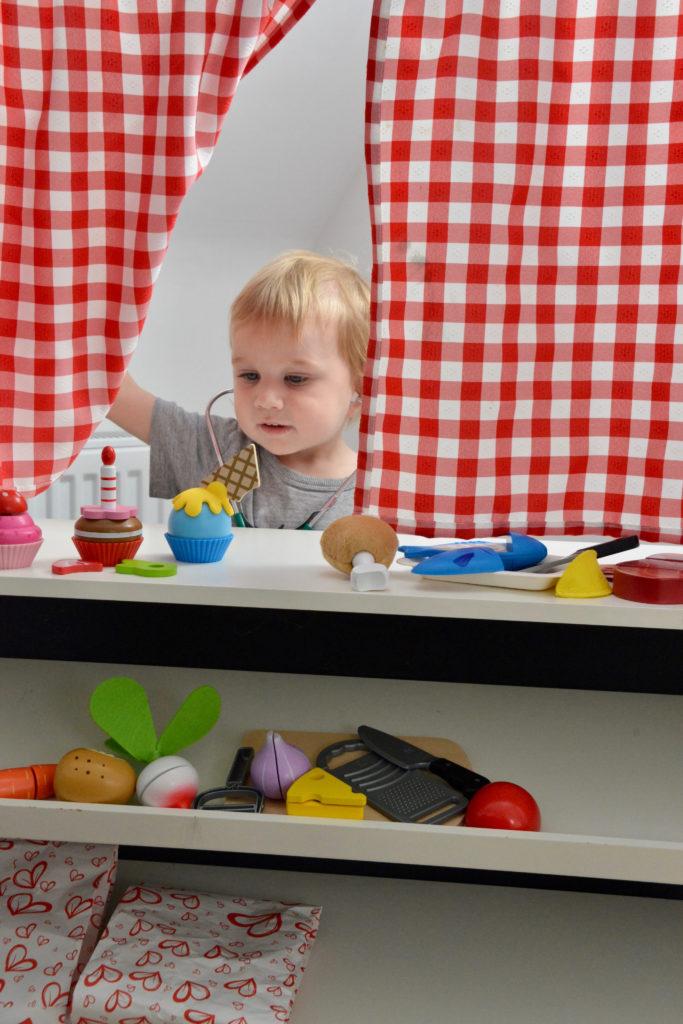 Hape toy set - role play food