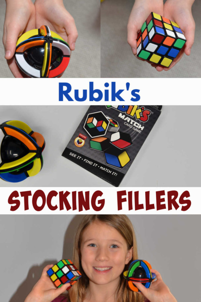 stocking filler ideas from Rubik's #stockingfillerideas #stockingfillers