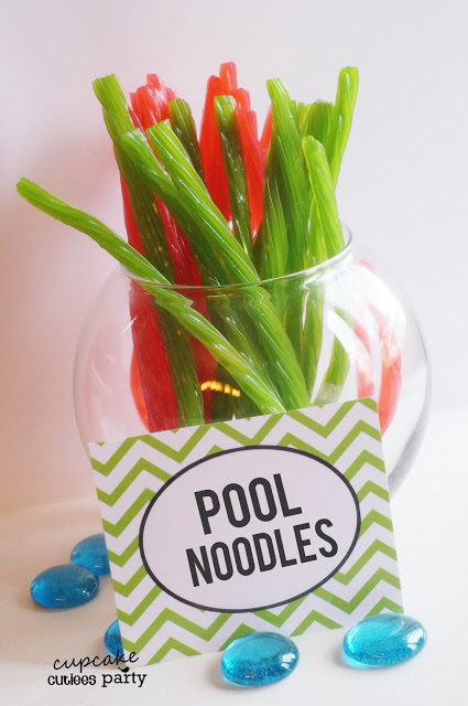Candy pool noodles