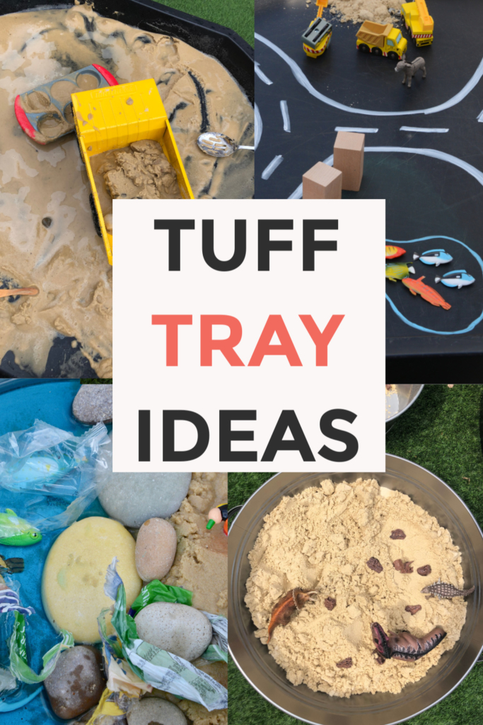 Tuff Tray Play Ideas