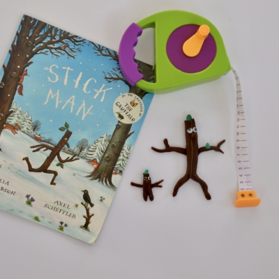 Stick Man play dough and other activities