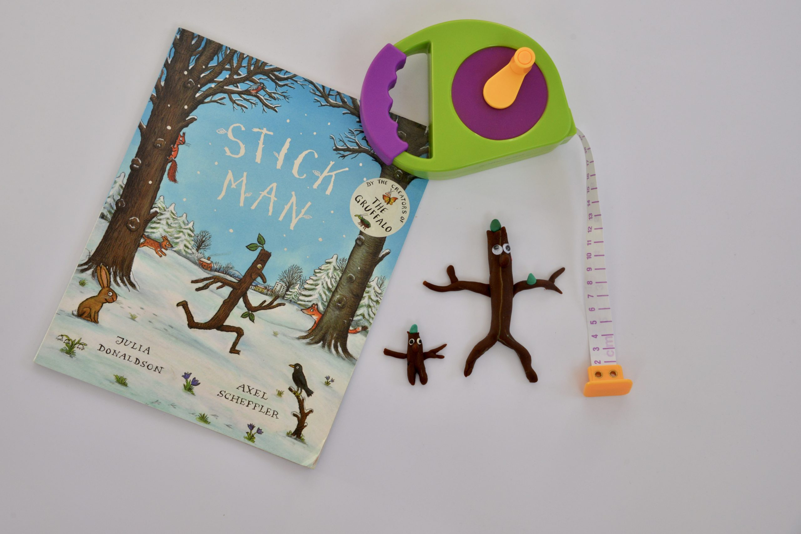 Stick Man Play dough